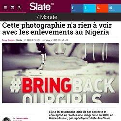 Cette photographie n'a rien à voir avec les enlèvements au Nigéria