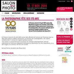 La Photographie fête ses 175 ans - Le salon de la Photo