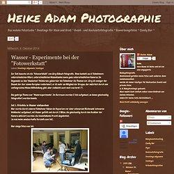 """Wasser - Experimente bei der """"Fotowerkstatt"""""""