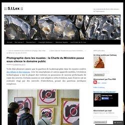 Photographie dans les musées : la Charte du Ministère passe sous silence le domaine public