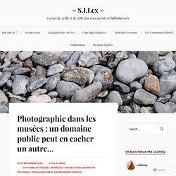 Photographie dans les musées : un domaine public peut en cacher un autre… – – S.I.Lex –