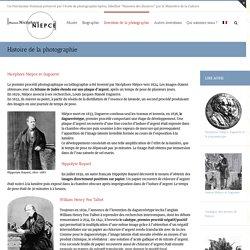 Histoire de la photographie - Musée Photo Maison Nicéphore Niépce