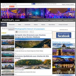 . Visites virtuelles - Nature et paysages en photographie panoramique 360 degrés