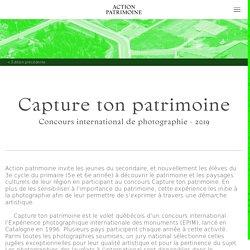 Concours de photographie 2019