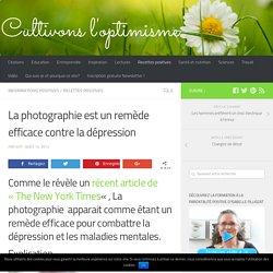 La photographie est un remède contre la dépression