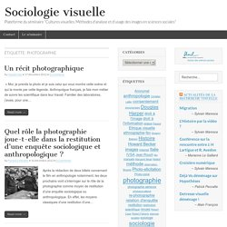 photographie – Sociologie visuelle