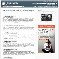 PHOTOGRAPHIE, sociologie et esthétique