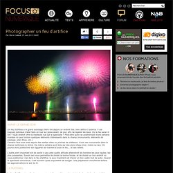 Photographier un feu d'artifice