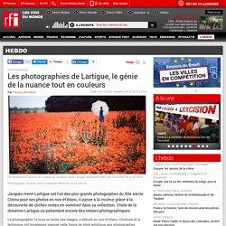 Les photographies de Lartigue, le génie de la nuance tout en couleurs - Hebdo