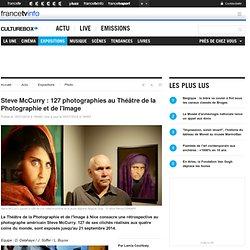 Steve McCurry : 127 photographies au Théâtre de la Photographie et de l'Image