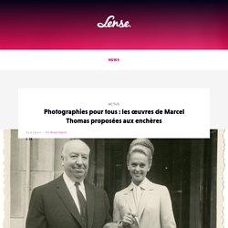 Photographies pour tous : les œuvres de Marcel Thomas proposées aux enchères