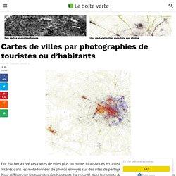 Cartes de villes par photographies de touristes ou d'habitants