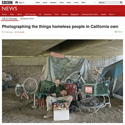 Photographing the things homeless people in California own