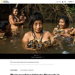 Photographing Indigenous Communities Under Threat in the Amazon