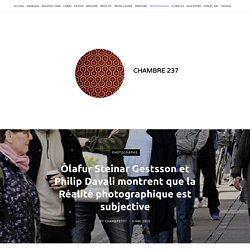 Ólafur Steinar Gestsson et Philip Davali montrent que la Réalité photographique est subjective