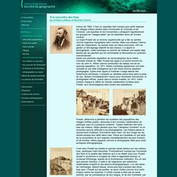 Trésors photographiques de la Société de géographie avec les INDIENS HOPI