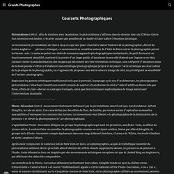 - Courants Photographiques - Grands Photographes