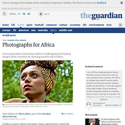 Photographs for Africa