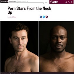 """Roger Kisby photographs porn stars at the Adult Video News Awards in his series, """"Head."""""""