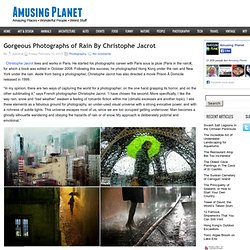 Gorgeous Photographs of Rain By Christophe Jacrot