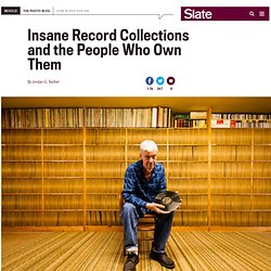 Eilon Paz photographs record collectors in his book, Dust & Grooves: Adventures in Record Collecting.
