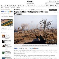 Egypt In Flux: Photographs by Thomas Dworzak
