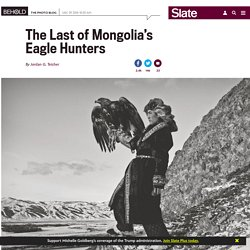Palani Mohan photographs Kazakh eagle hunters in his book, Hunting with Eagles.