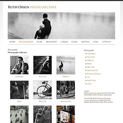 Photographs :: Ruth Orkin Photo Archive
