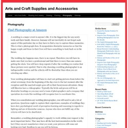 Photography | Arts and Craft Supplies and Accessories