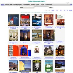 Global-Online-Store: Books - Arts & Photography - Architecture - Building Types & Styles - Residential