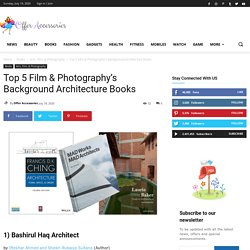 Top 5 Film & Photography's Background Architecture BooksOffer Accessories