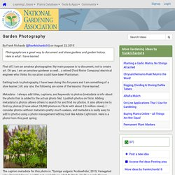 Garden Photography (National Gardening Association)