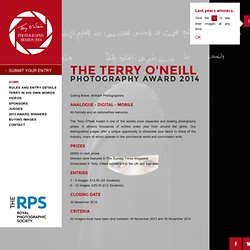 The Terry O'Neill Tag Award 2011