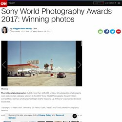Sony World Photography Awards 2017: Winning photos