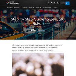 Step by Step Guide to Beautiful Bokeh Effect