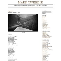 Mark Tweedie | Pinhole photography | bookbinding | poetry