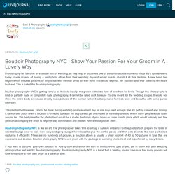 Boudoir Photography NYC - Show Your Passion For Your Groom In A Lovely Way: cecibphotograph