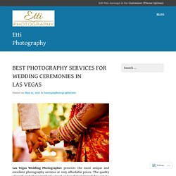 Get the best Las Vegas Wedding Photographer