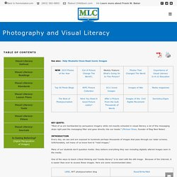 Photography and Visual Literacy - Media Literacy Clearinghouse