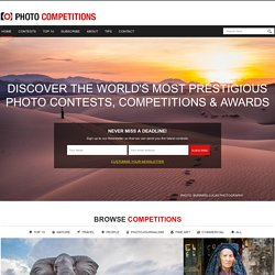 Photography Competitions & Photo Contests