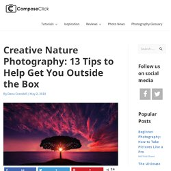 Creative Nature Photography: 13 Tips to Help Get You Outside the Box