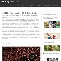 Still Life Photography - 30 Brilliant Shots - DesignGrapher.Com
