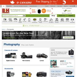 Photography, Digital Cameras, Lenses, and Lighting
