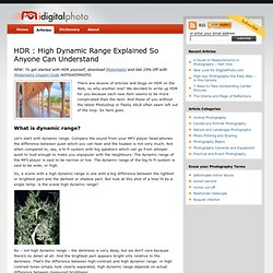 HDR Photography: What is High Dynamic Range? » i Digital Photo
