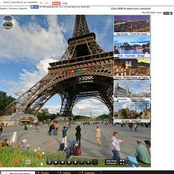 la fotografía de la Torre Eiffel: Visita debajo de la torre en la foto y la gira 360 - photoJPL.com.