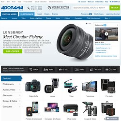 Digital cameras, all other cameras and everything photographic from Adorama Camera