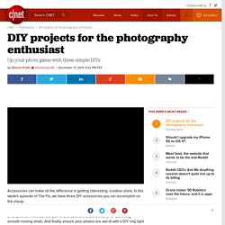 DIY projects for the photography enthusiast