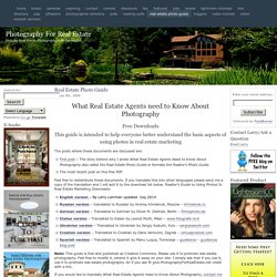 Real Estate Photo Guide