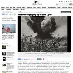 War/Photography by Geoff Dyer