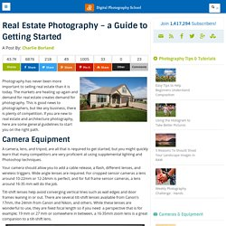 Real Estate Photography - a Guide to Getting Started